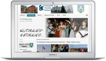 Portal Gołanieckiego Ośrodka Kultury