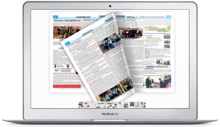 Elektroniczna wersja ECHO – Samorządowej gazetki gołanieckiej