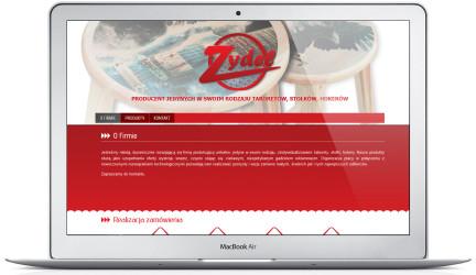 Strona firmowa zakładu produkcyjnego ZYDEL
